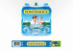 Maniglie per confezione da 6 Bottiglie Fontenoce