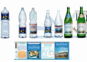 Etichetta per Acqua Calabria