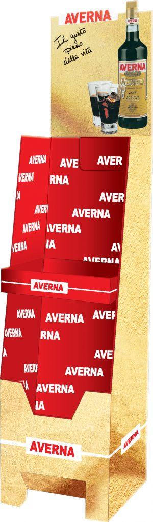 Espositore per Averna