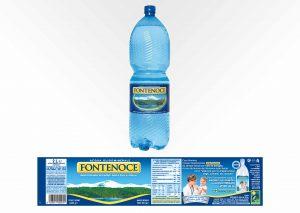 Etichetta per Fontenoce Acqua Minerale